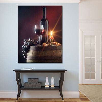 Red Wine - Amazing Canvas Prints
