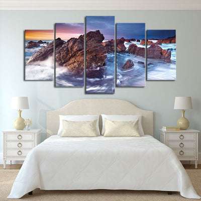 Rugged Seas - Amazing Canvas Prints