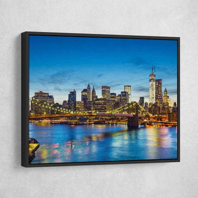 Manhattan Bridge - Amazing Canvas Prints
