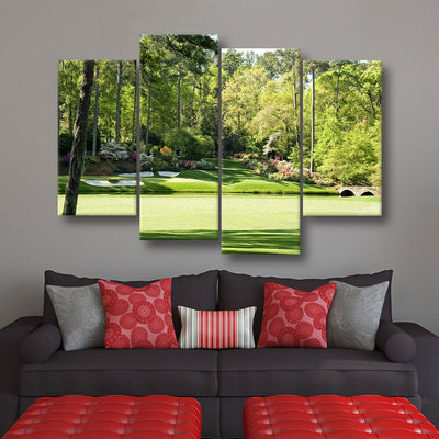 Augusta Hole 12 - Amazing Canvas Prints