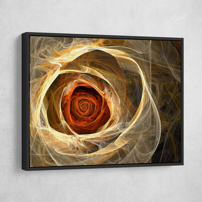 Abstract Rose - Amazing Canvas Prints