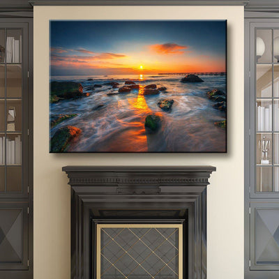 Amazing Sunset - Amazing Canvas Prints