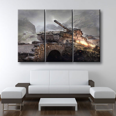 Army Tanks - Amazing Canvas Prints