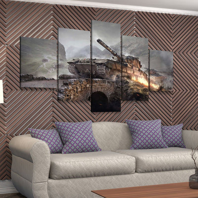 Army Tank - Amazing Canvas Prints