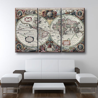 Ancient World Map