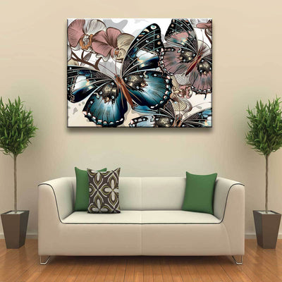 Butterfly Painting - Amazing Canvas Prints