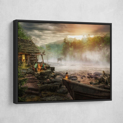 Beautiful Summer Evening - Amazing Canvas Prints