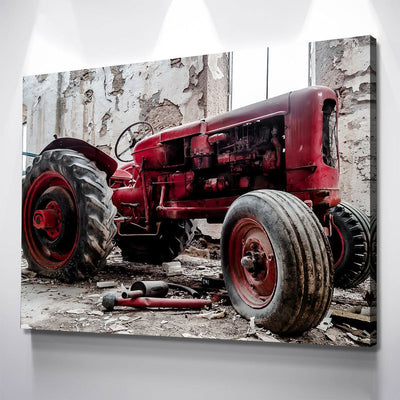 Classic Tractor - Amazing Canvas Prints