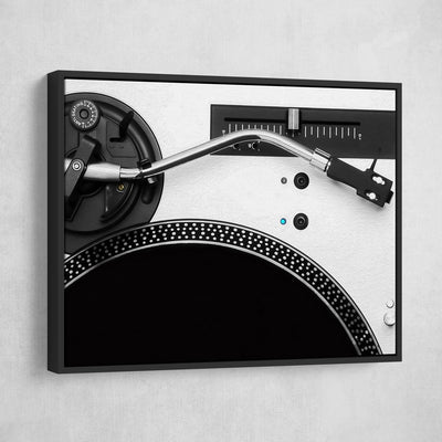 DJ Turntable - Amazing Canvas Prints