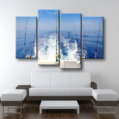 Deep Sea Fishing - Amazing Canvas Prints