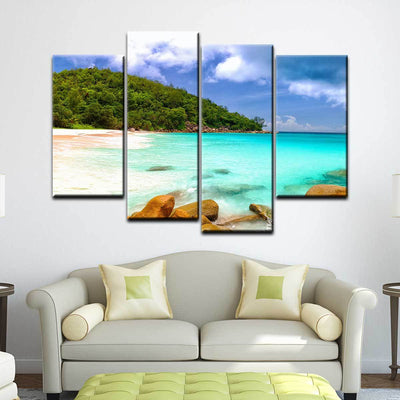 Exotic Island Beach - Amazing Canvas Prints