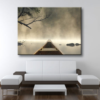 Early Morning Fog - Amazing Canvas Prints