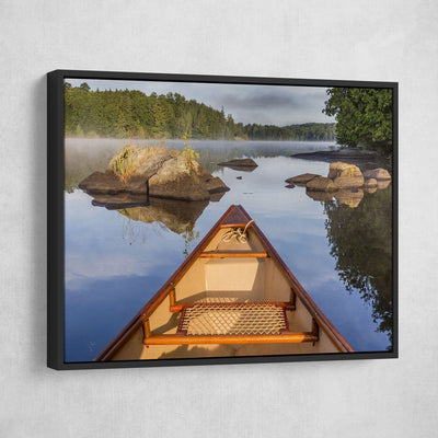 Early Morning On The Lake - Amazing Canvas Prints