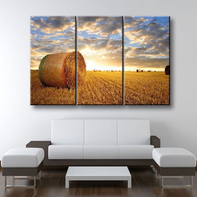 Farming Fields - Amazing Canvas Prints