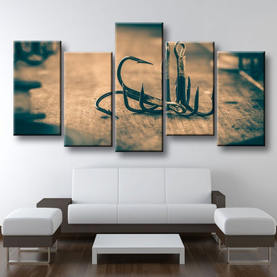 Fishing Hooks - Amazing Canvas Prints