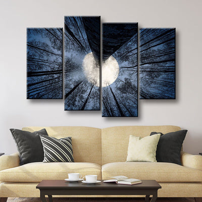 Full Moon - Amazing Canvas Prints
