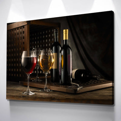 Fine Wine - Amazing Canvas Prints