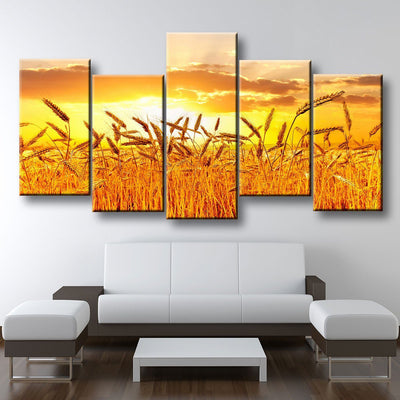 Golden Wheat Fields - Amazing Canvas Prints