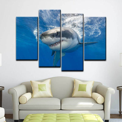 Great White Shark - Amazing Canvas Prints