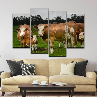 Hereford Cattle - Amazing Canvas Prints
