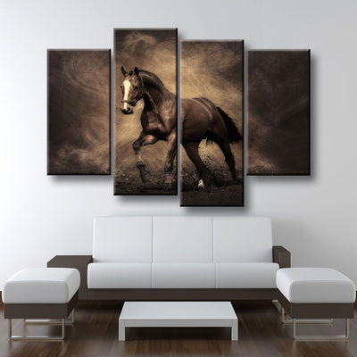 Horse Painting - Amazing Canvas Prints