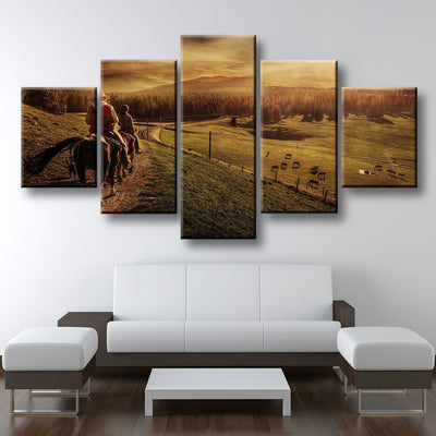 Horse Ranch - Amazing Canvas Prints