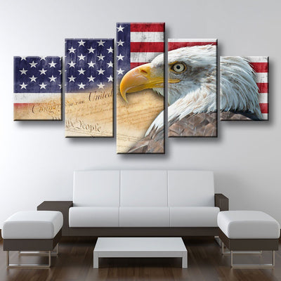 I love America - Amazing Canvas Prints