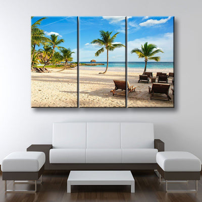 Limited Edition Tropical Island Beach - Amazing Canvas Prints