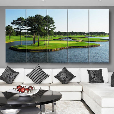 Myrtle Beach Golf Course - Amazing Canvas Prints