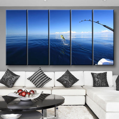 Mahi Mahi Fishing - Amazing Canvas Prints