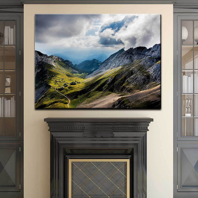 Mount Pilatus In Switzerland - Amazing Canvas Prints