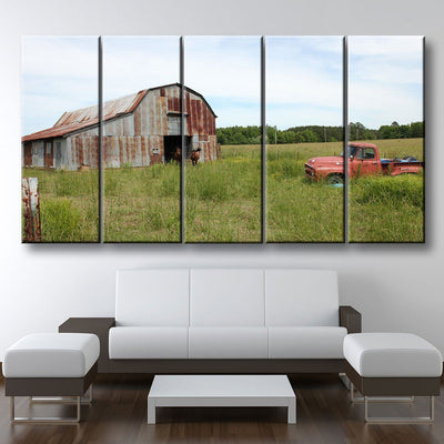 Old Farm Truck - Amazing Canvas Prints