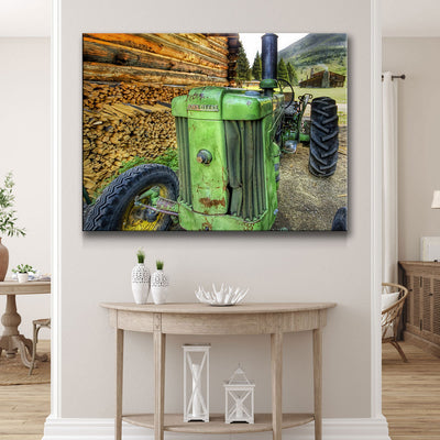 Old Tractor - Amazing Canvas Prints