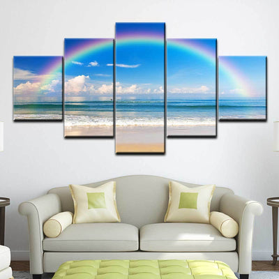 Ocean Rainbow - Amazing Canvas Prints