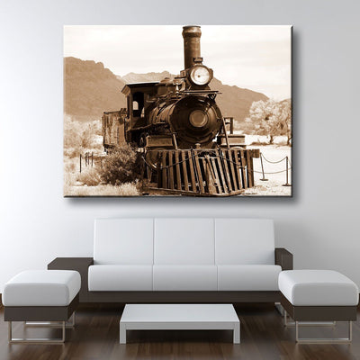 Old Train - Amazing Canvas Prints