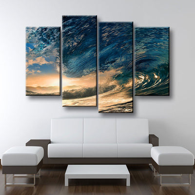 Ride The Wave - Amazing Canvas Prints