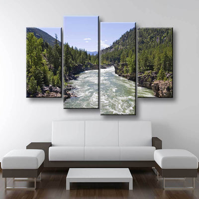 Raging River - Amazing Canvas Prints