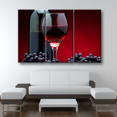 Red Wine Lovers - Amazing Canvas Prints
