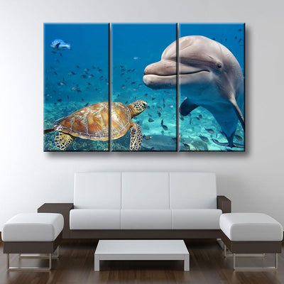 Sea Friends - Amazing Canvas Prints