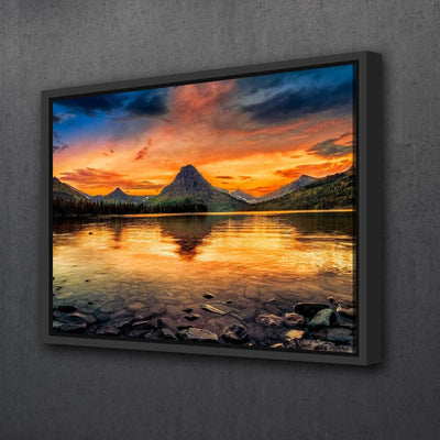 Scenic Sunset - Amazing Canvas Prints