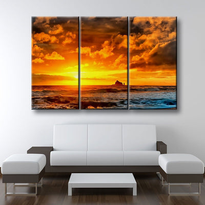 Stunning Sunset - Amazing Canvas Prints