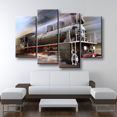 Steam Train - Amazing Canvas Prints