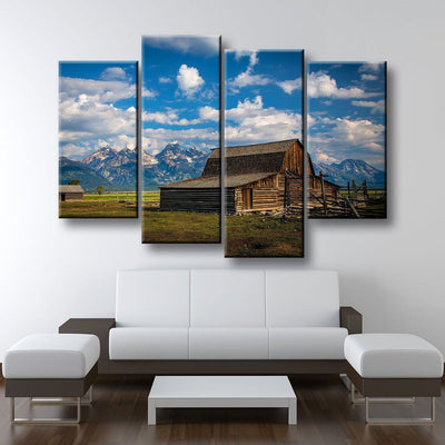The Barn - Amazing Canvas Prints