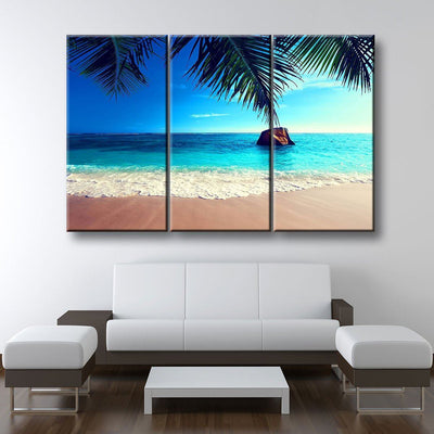 Tropical Beach Seascape - Amazing Canvas Prints