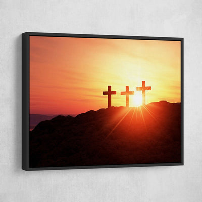 Three Crosses - Amazing Canvas Prints