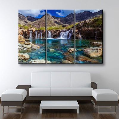 The Fairy Pools on the Isle of Skye Scotland - Amazing Canvas Prints