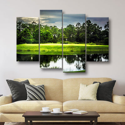 The Green - Amazing Canvas Prints