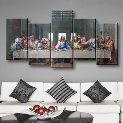 The Last Supper - Amazing Canvas Prints