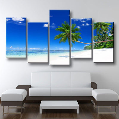 Tropical Paradise Beach CoastLine - Amazing Canvas Prints
