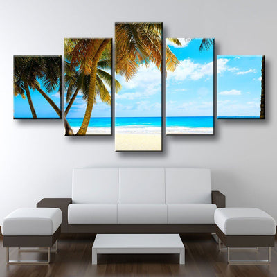 Tropical Paradise Beach Horizon - Amazing Canvas Prints